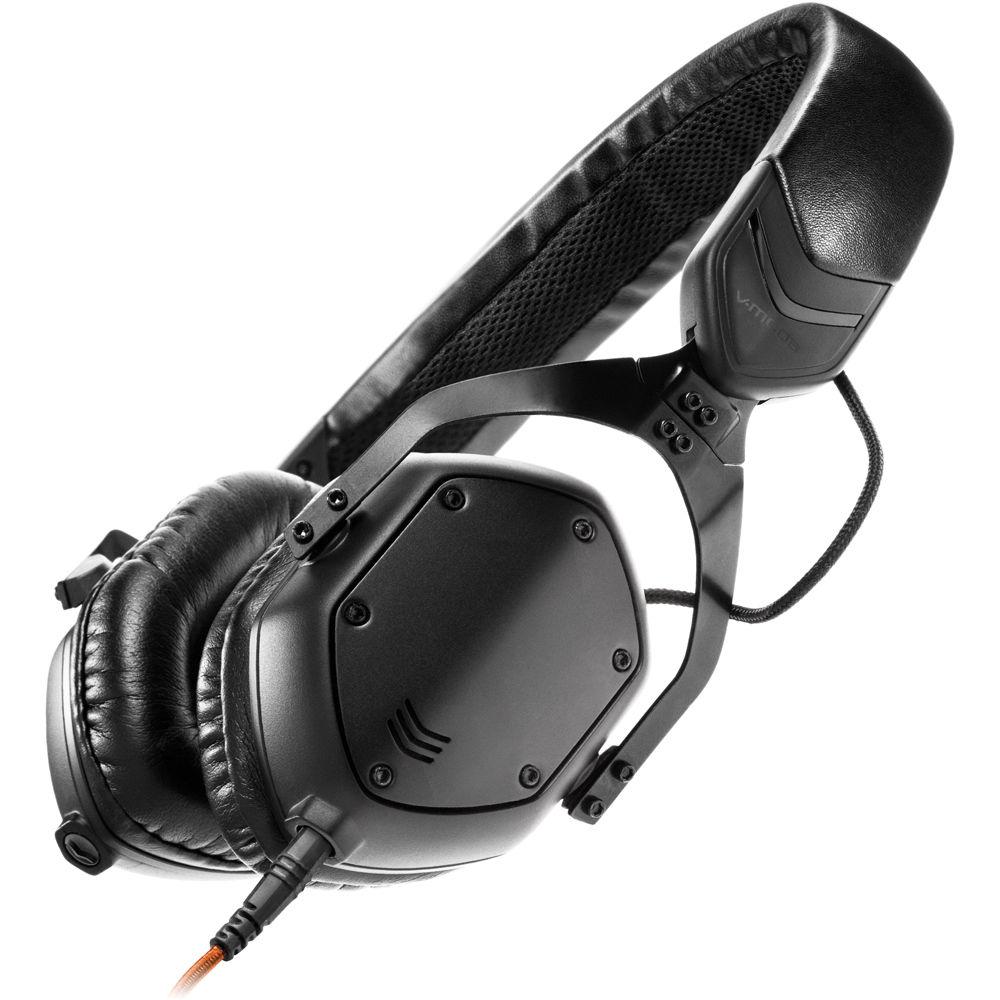 志達電子 XS-U-Mblackm V-MODA XS 耳罩貼耳式隔音金屬摺疊耳機