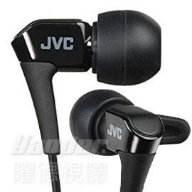 【曜德★送收納盒】JVC HA-FXH10 黑 微型動圈 耳道式耳機 線夾 ★免運★