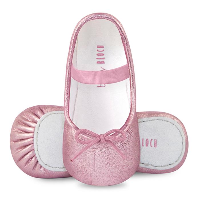 【HELLA 媽咪寶貝】澳洲Bloch 蝴蝶結芭蕾舞鞋(嬰幼兒)_BB420_SFP