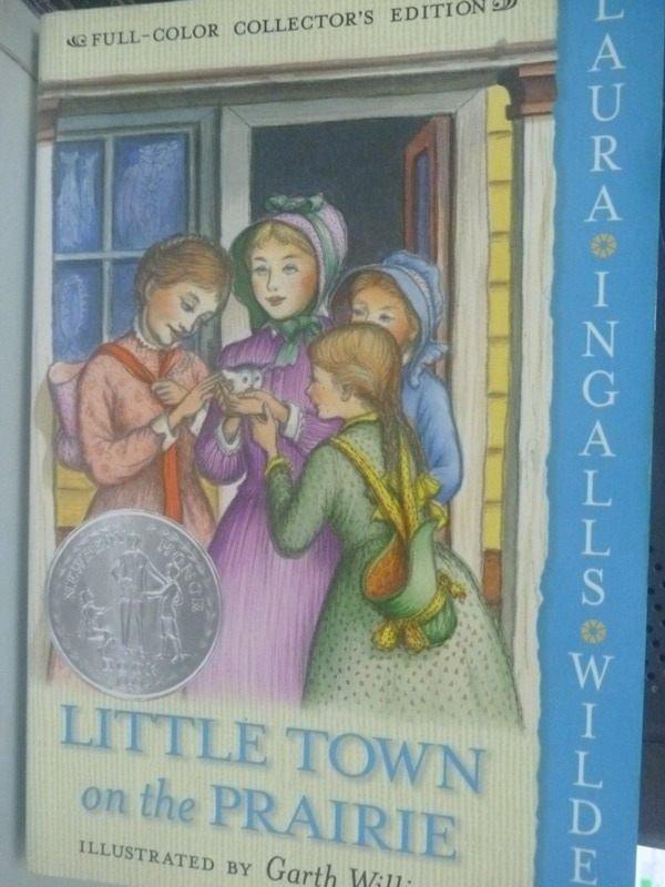 【書寶二手書T5/原文小說_HSN】Little Town on the Prairie