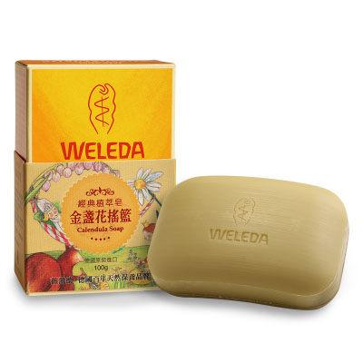 (任2件360元)WELEDA -經典皂-金盞花搖籃 100g  【總代理公司貨】