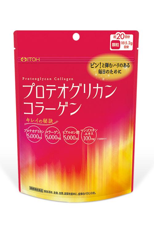 日本(產地:大阪府)  ITOH 井藤漢方  贅沢美容  高含量  膠原蛋白粉 130g   約20天份 熟齡美魔女必備