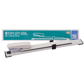 MAX HD-35L 可調式釘書機 訂書機(深30cm)/一台入{定1200}長臂加長型訂書機