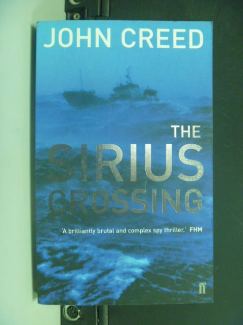 【書寶二手書T6/原文小說_KLV】The Sirius Crossing_J. Creed