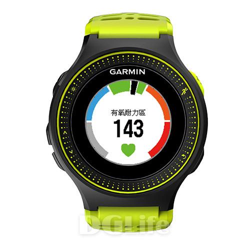 GARMIN 腕式心率跑錶 Forerunner 225 光感綠