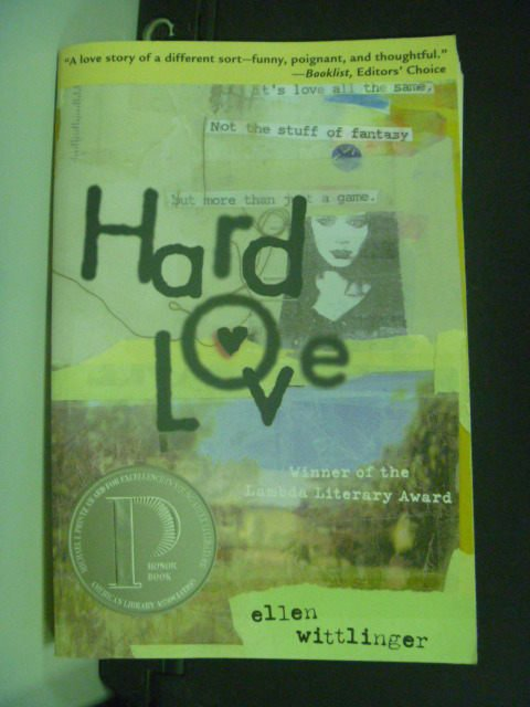 【書寶二手書T6/原文小說_GDK】HARD LOVE_Ellen Wittlinger