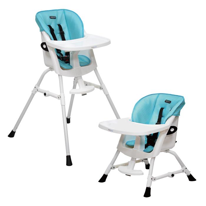 ViViBaby - 蜂巢式立體座墊高低兩段高腳餐椅