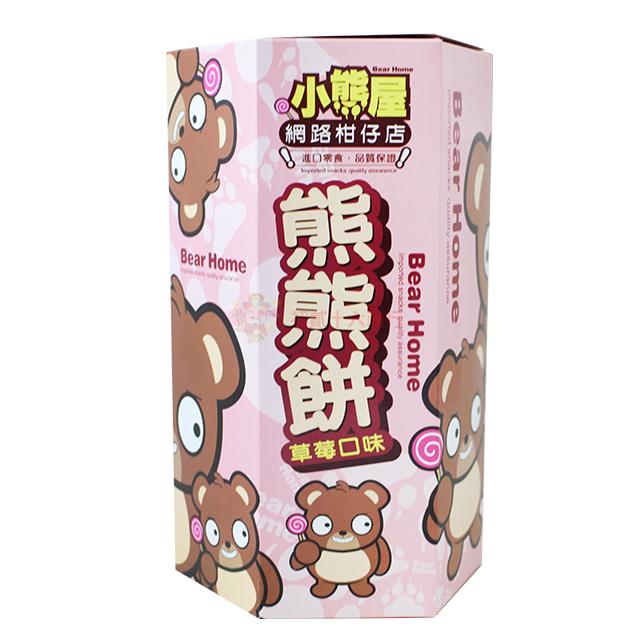 【0216零食會社】宇宙屋-宇宙之熊餅(草莓口味)180g