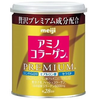 日本 meiji 明治膠原蛋白粉罐裝 添加Q10及玻尿酸 白金尊爵版 日本熱銷NO.1 PG美妝