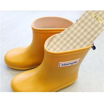 【限定特惠$99】【安琪兒】日本【Stample】兒童雨鞋鞋墊