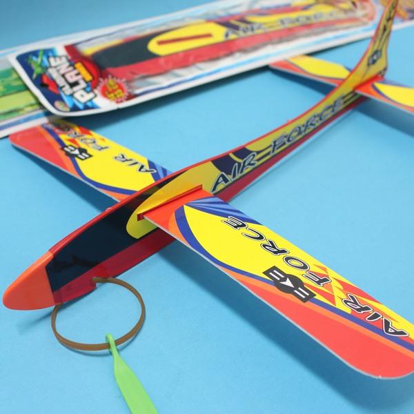 36cm保麗龍彈射飛機 510-11 大滑翔機 高空滑翔機 童玩飛機/一支入{促35}~首