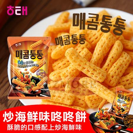 韓國 HAITAI 海太 咚咚餅 (炒海鮮風味) 80g 炒海鮮脆餅【N101631】