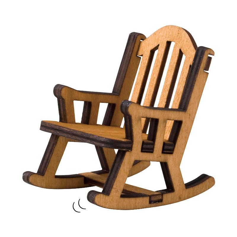 Decole日本擺設玩偶 / 公仔 / 道具 / 配件 - Concombre 木搖椅 ( TG-40115 )
