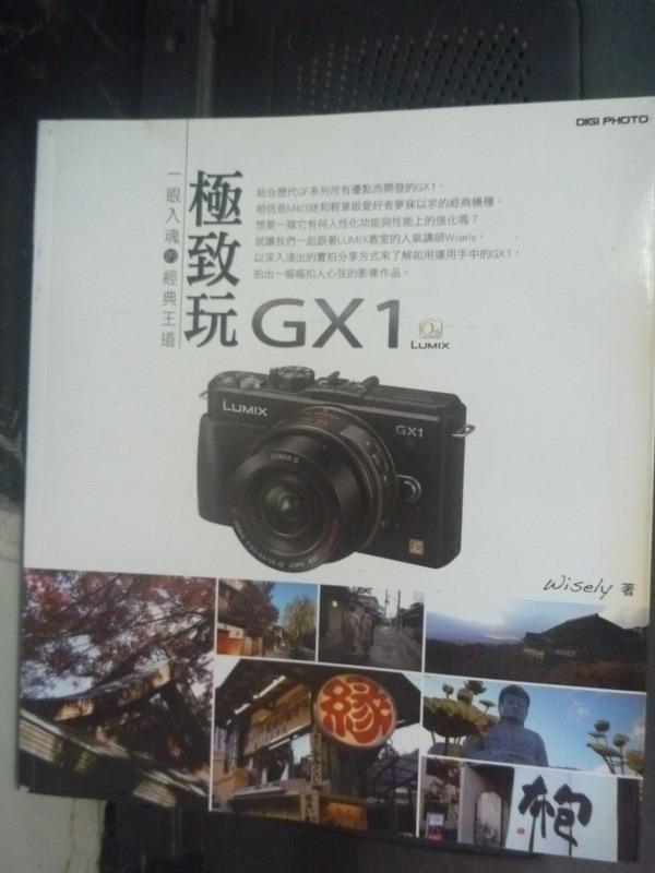 【書寶二手書T4/攝影_XDD】極致玩GX1:一眼入魂的經典王道_林顥峰