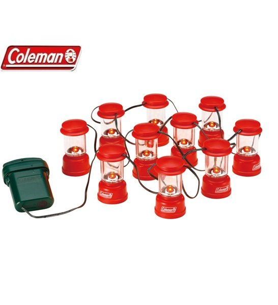 [ Coleman ] LED串燈 紅 /  電子燈 裝飾燈 / 公司貨 CM-9359