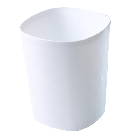 垃圾桶 10L 中都會 白 TRNT018-W