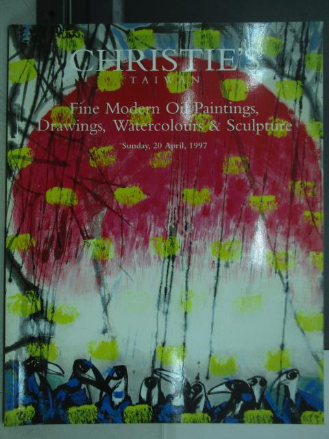 【書寶二手書T1/收藏_ZFP】Christie's_Fine Modern Oil Paimtings…4/20