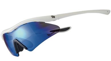720armour Rider 運動太陽眼鏡 T337Lite-5 霧白框灰藍色多層鍍膜防爆PC片