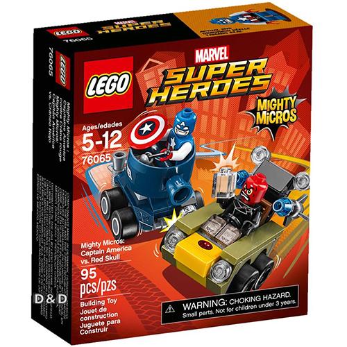 樂高積木 LEGO《 LT76065 》SUPER HEROES 超級英雄系列 - Mighty Micros: Captain America vs. Red Skull