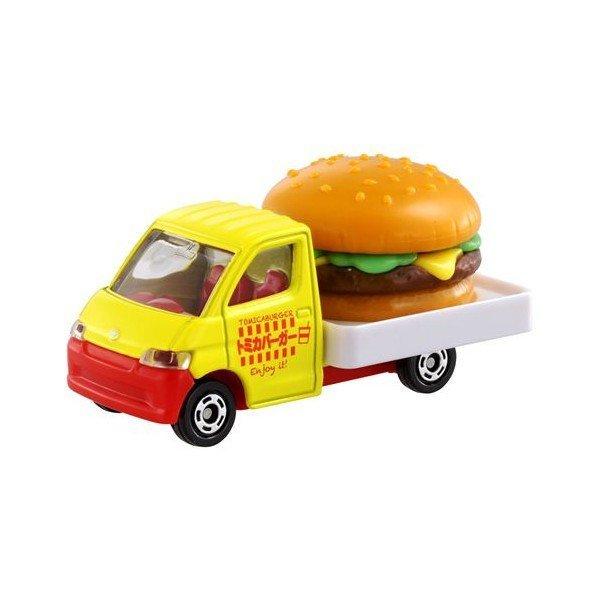【真愛日本】16042600002 TOMY小車-豐田王牌鎮漢堡TAKARA TOMY多美小汽車 小車 模型 收藏 玩具
