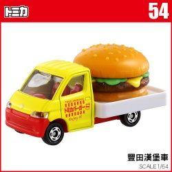 《 TOMICA 火柴盒小汽車 》TM054 豐田漢堡車
