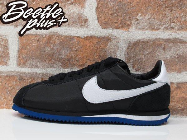 BEETLE PLUS NIKE LAB CORTEZ BASIC SP LA UNDFTD 洛杉磯 黑藍 黑白 阿甘 慢跑鞋 815653-014