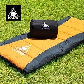 【【蘋果戶外】】KAZMI K5T3M001 可拼接保暖睡袋 登山活動/可拼接/防風/抗水/保暖/透氣