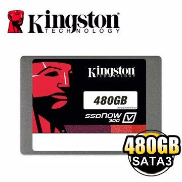 *╯新風尚潮流╭*金士頓 480G SSDNow V300 SATAⅢ 固態硬碟 SV300S37A/480G