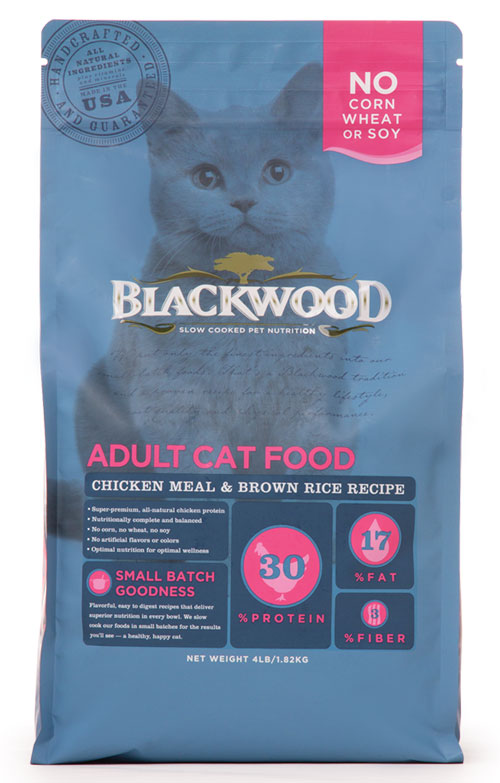 柏萊富Blackwood 特調成貓亮毛配方(雞肉+糙米)