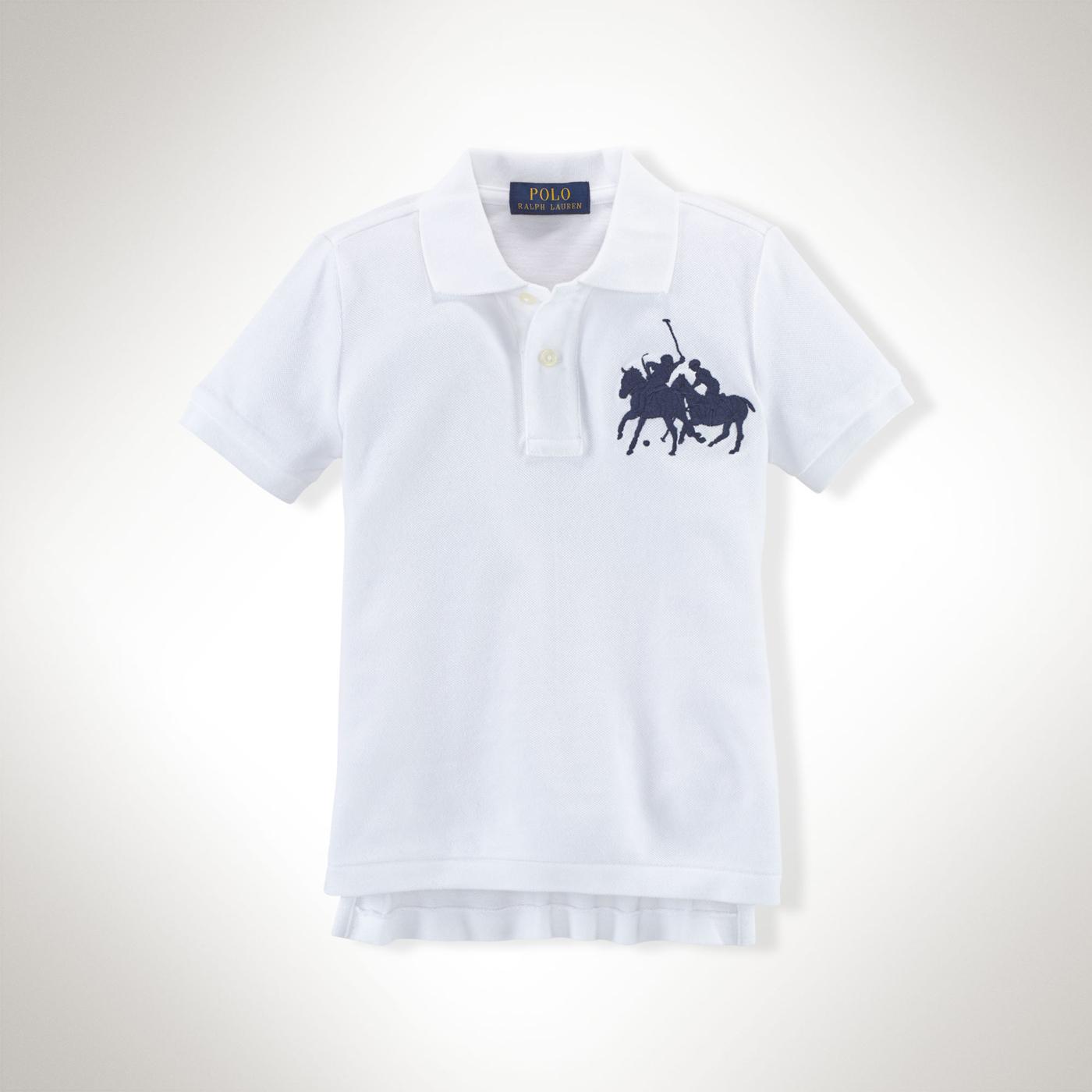 美國百分百【全新真品】Ralph Lauren Polo衫 RL 大馬 群馬 男 白色 短袖 上衣 XS S號 F410