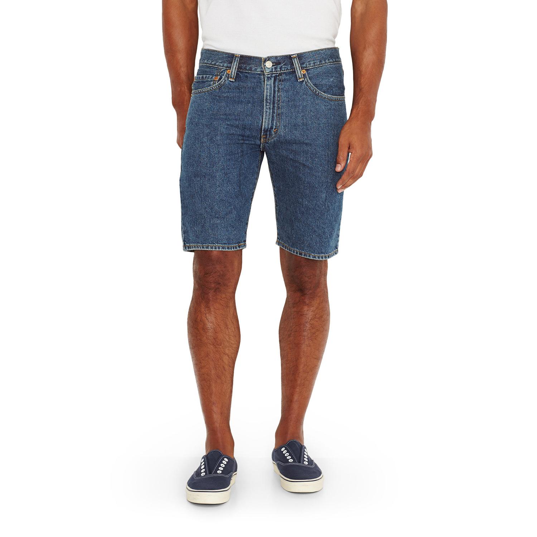 美國百分百【全新真品】Levis 505 牛仔 短褲 五分褲 牛仔褲 單寧 合身 藍色 30 32腰 F548