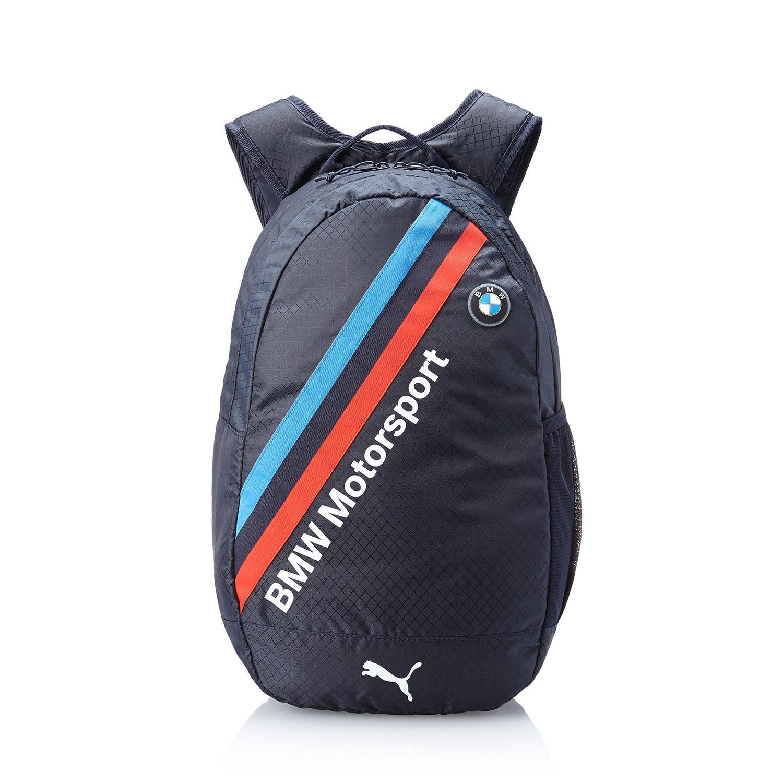 美國百分百【全新真品】PUMA 後背包 BMW 車隊 賽車 肩背包 運動 外出 電腦包 單車 聯名款 深藍色 F648