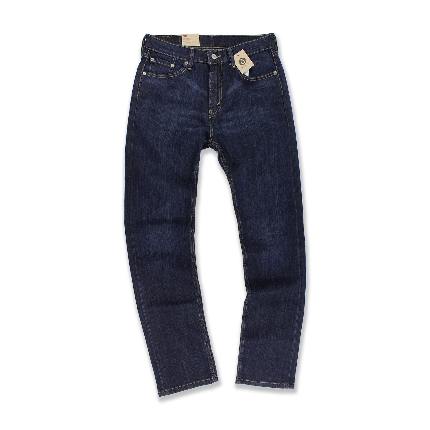 美國百分百【全新真品】Levis 505 Regular Fit 男 牛仔褲 直筒褲 單寧 30腰 深藍 刷色 C495
