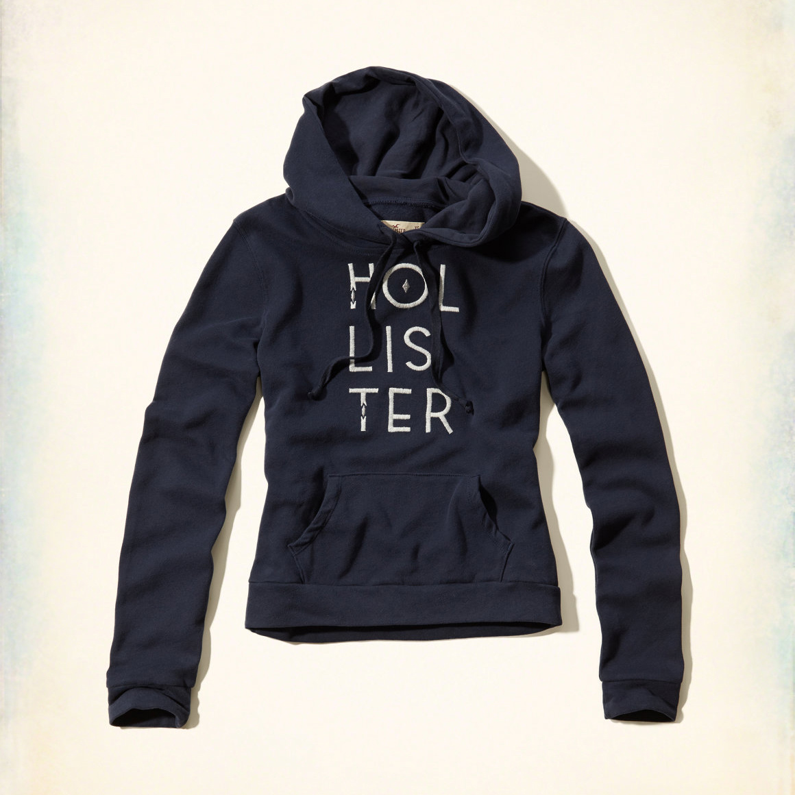 美國百分百【全新真品】Hollister Co. 帽T HCO 連帽 長袖 T恤 海鷗 深藍 女 S M 特價 F800