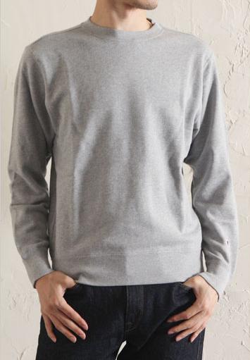 美國百分百【Champion】冠軍 T恤 長袖 T-shirt logo 素T 刷毛 大學T 灰色 XS號 C820