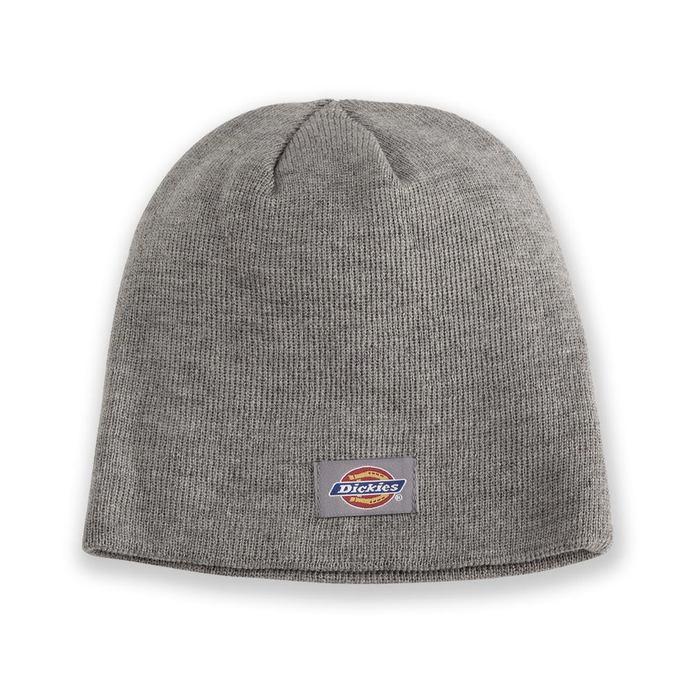 美國百分百【全新真品】Dickies 帽子 配件 針織帽 毛帽 素面 漁夫帽 街頭 滑板 潮牌 男 女 灰色 F993
