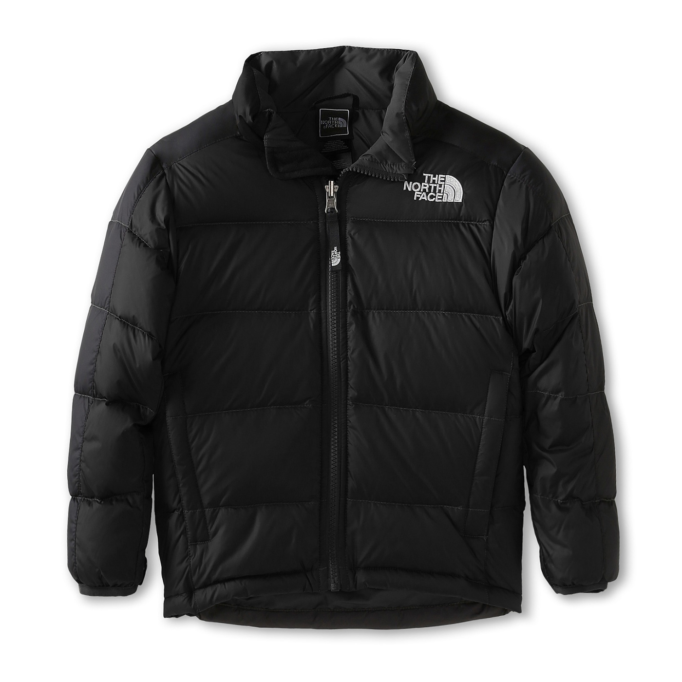 美國百分百【The North Face】外套 TNF 羽絨 夾克 立領 北臉 550 男 黑色 XS S號 G356