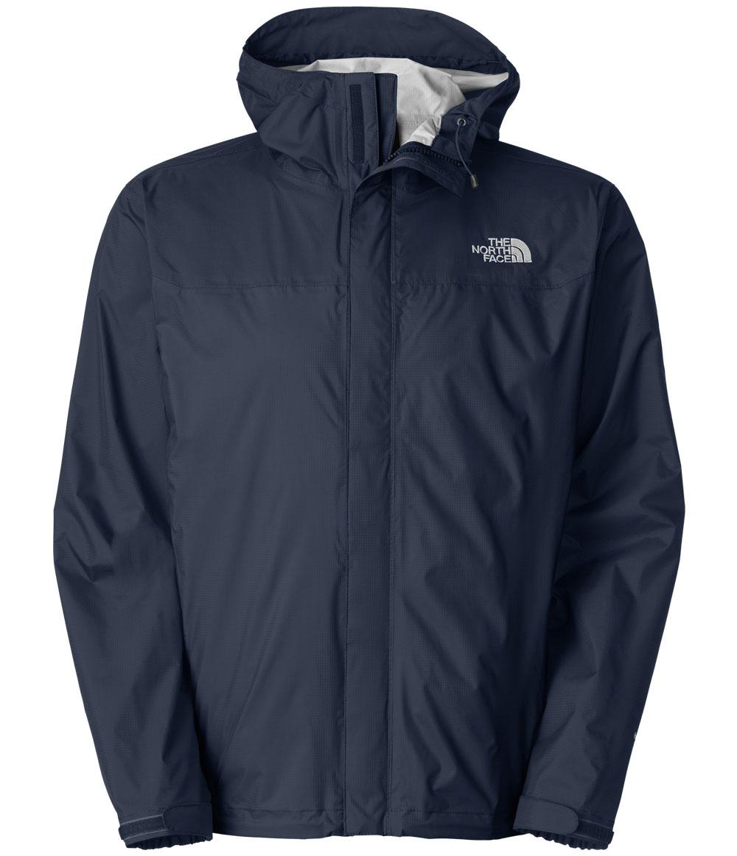 美國百分百【全新真品】The North Face 外套 TNF Hyvent 連帽 風衣 北臉 深藍 防水 透氣 防風 男 M號 B962