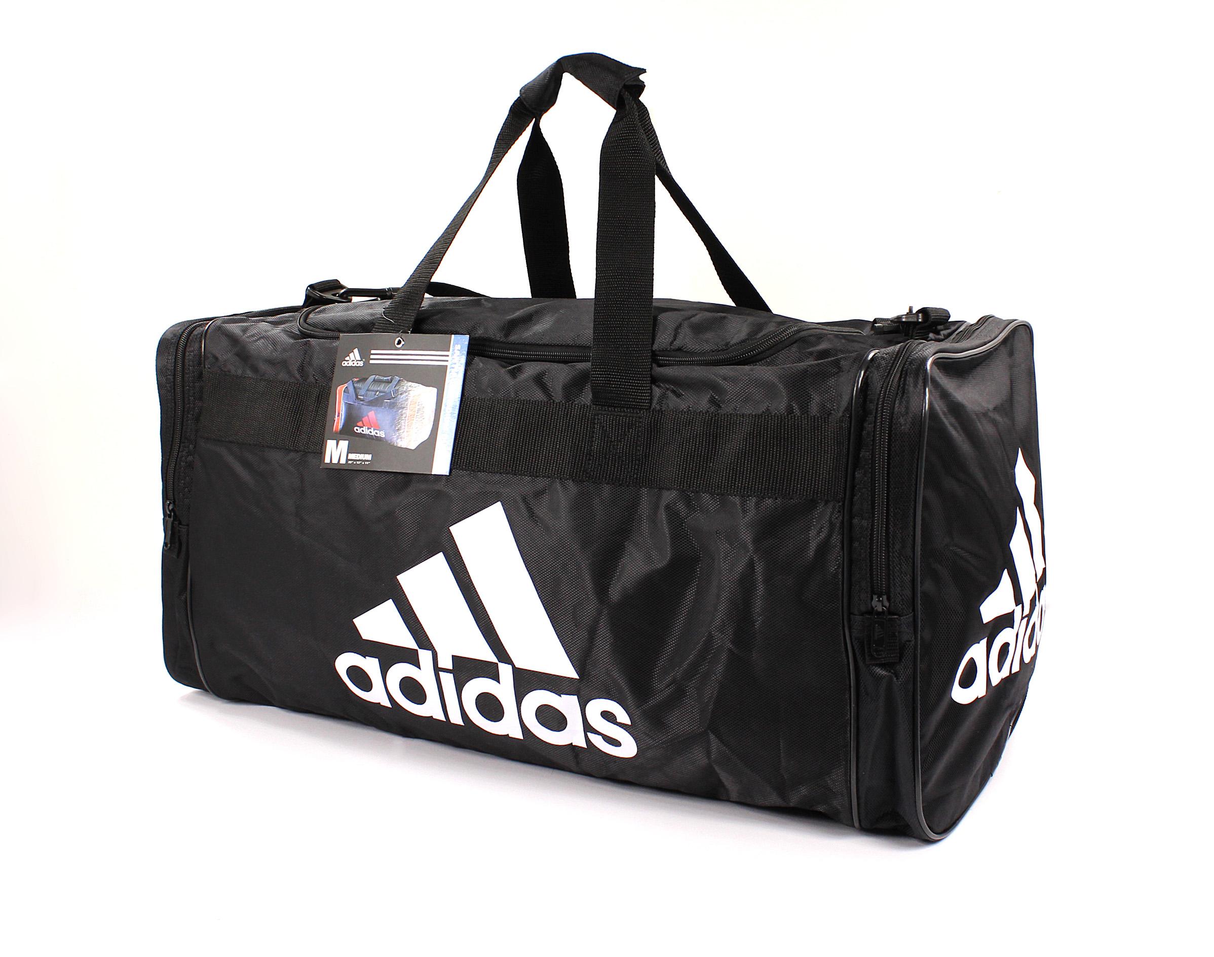 美國百分百【全新真品 】Adidas 旅行袋 愛迪達 黑 手提包 運動包 大包 男包 女包 行李 B796