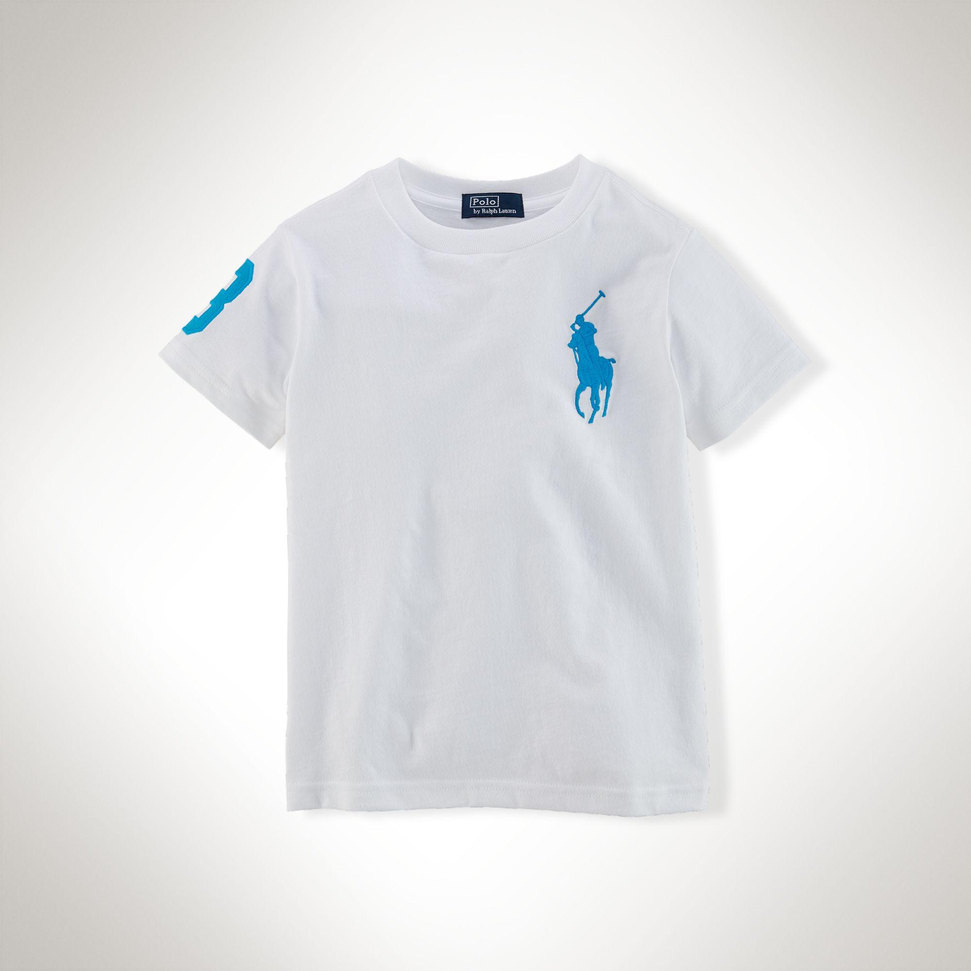 美國百分百【全新真品】Ralph Lauren T恤 男衣 RL 短袖 白 上衣 T-shirt Polo 大馬 XS S號 E102