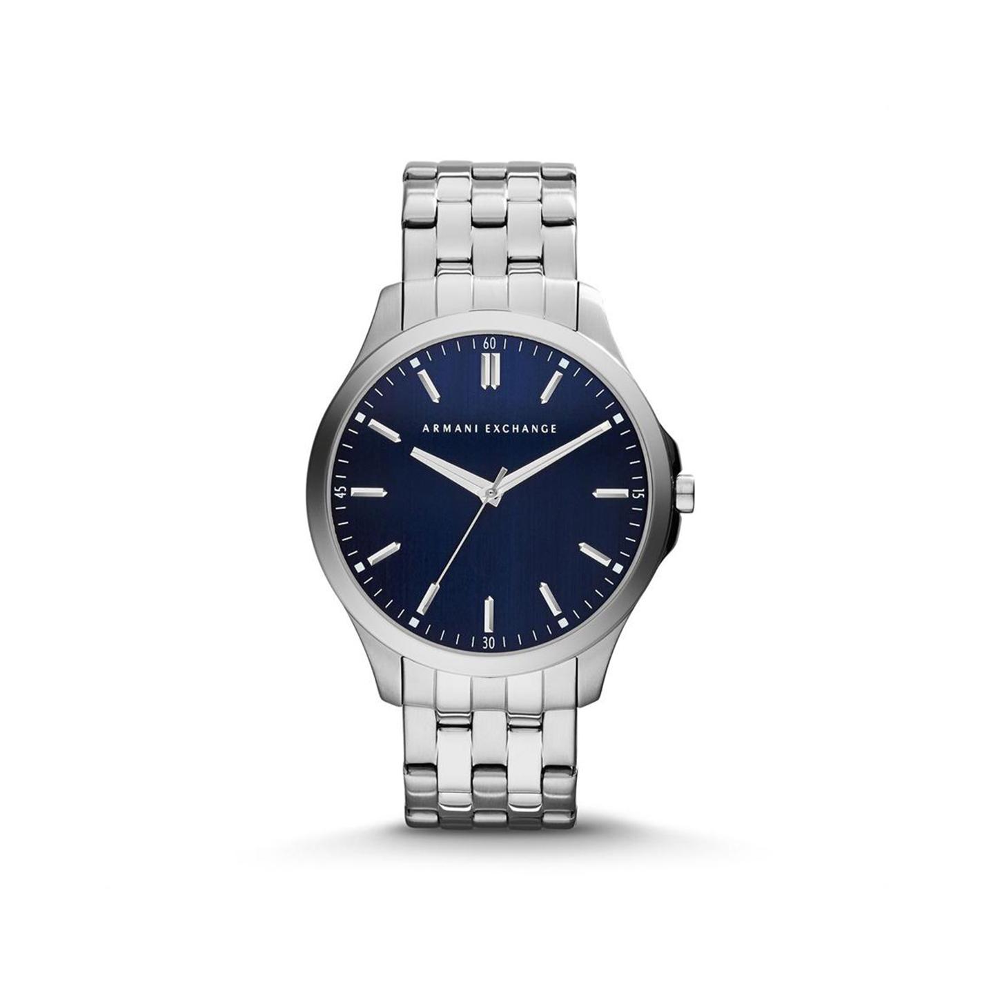 美國百分百【Armani Exchange】配件 AX 手錶 時尚 風格 腕錶 金屬 大錶面 阿曼尼 不鏽鋼 E342
