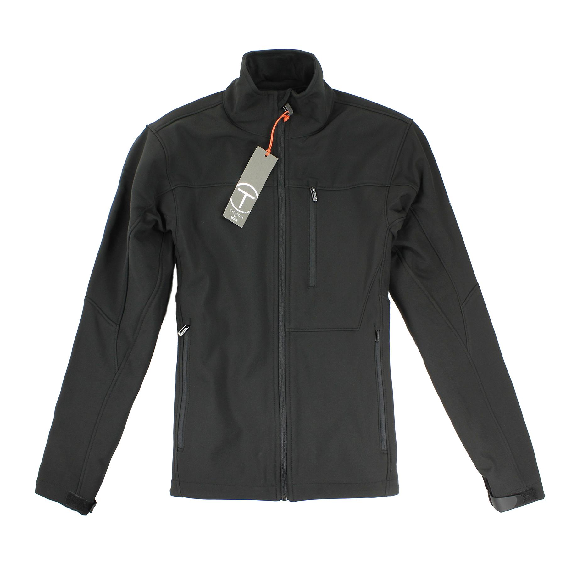 美國百分百【全新真品】Tumi 外套 立領 T-tech 防水 防風 軟殼 鋪棉 刷毛 黑 S M L XL E352