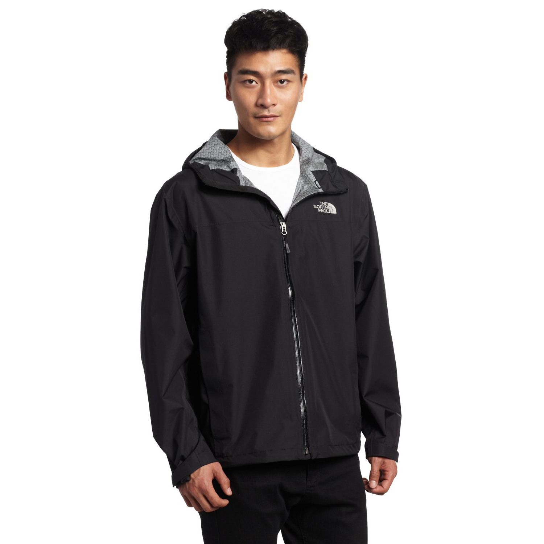 美國百分百【全新真品】The North Face 外套 TNF 夾克 防水 防風 北臉 黑 連帽 男 XS號 E479
