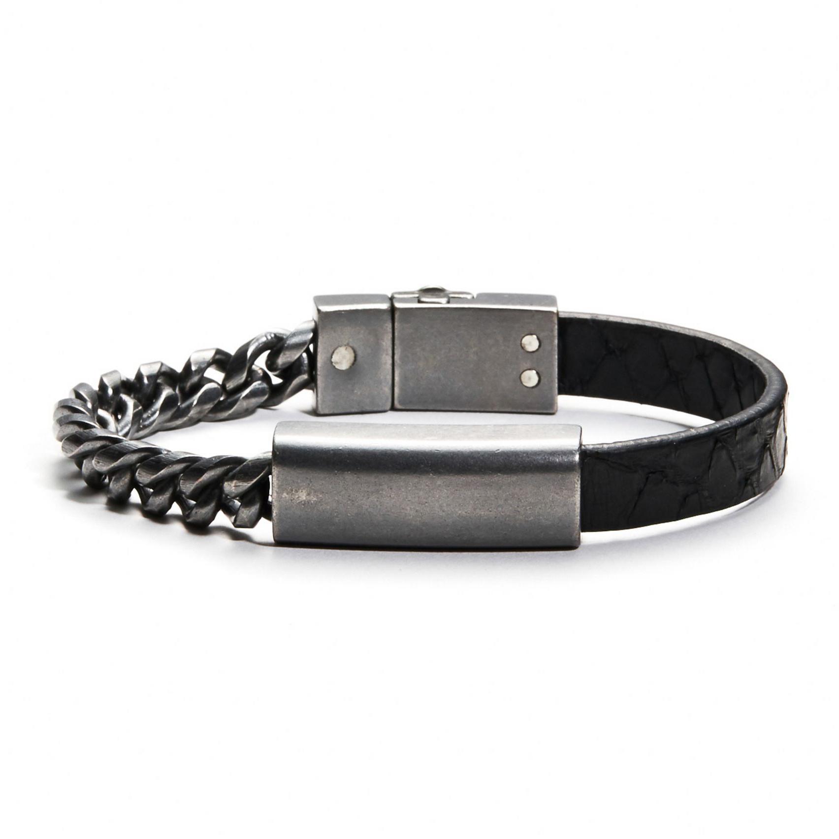 美國百分百【全新真品】Armani Exchange 手環 飾品 配件 金屬 皮環 AX 專櫃 手鍊 男 女 E536