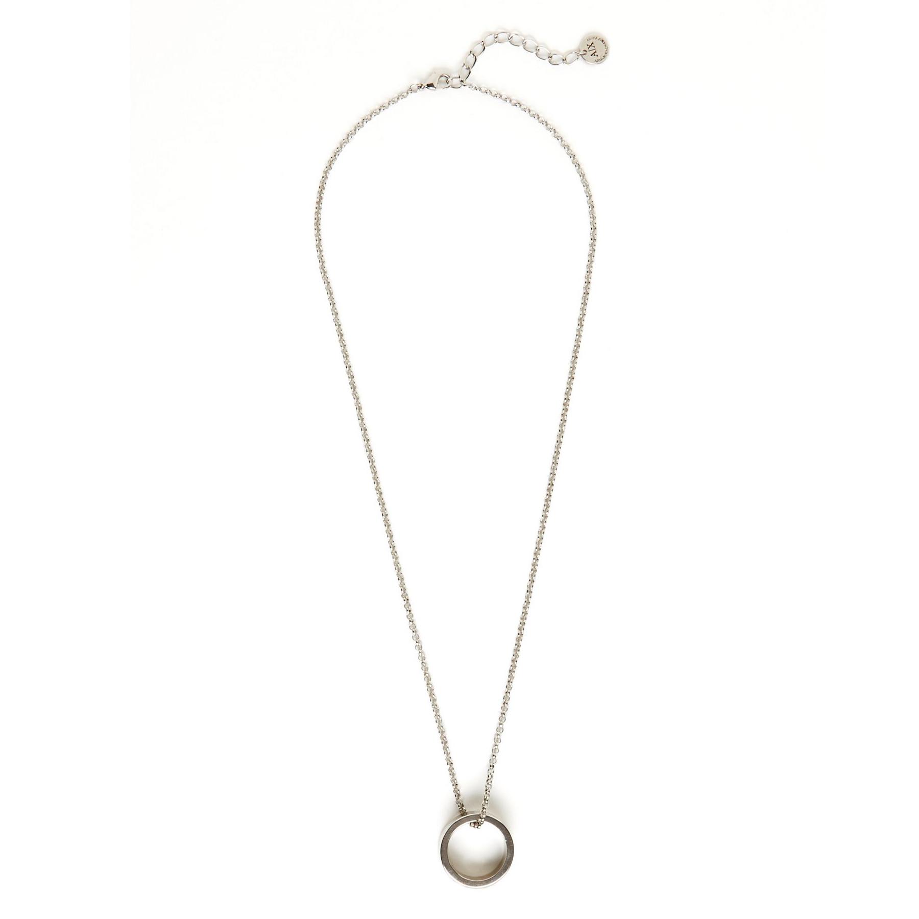 美國百分百【全新真品】Armani Exchange 項鍊 飾品 配件 戒指 AX 專櫃 男款 首飾 戒鍊 E657