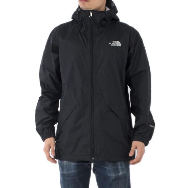 美國百分百【全新真品】The North Face 外套 TNF 北臉 防雨 多功能 防風 防水 黑色 S E415