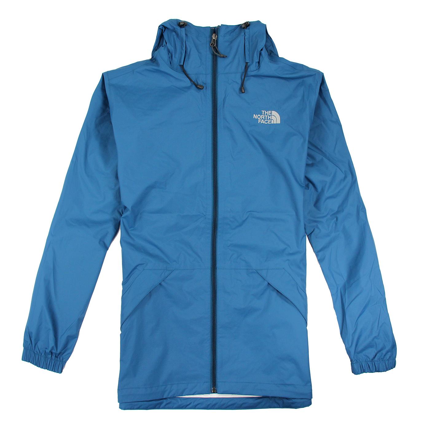 美國百分百【全新真品】The North Face 外套 TNF 北臉 防雨 多功能 防風 防水 青藍色 S E415