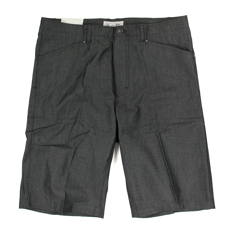 美國百分百【全新真品】Calvin Klein 短褲 CK 休閒褲 百慕達褲 五分褲 素面 春夏款 深灰色 男 F112