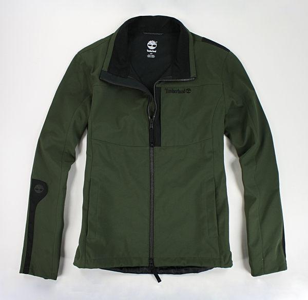 美國百分百【全新真品】Timberland 中空纖維 防水 修身 夾克 騎士 擋風衣 修身 外套 墨綠 S號