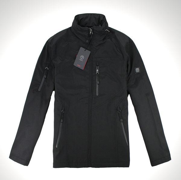 美國百分百【全新真品】Tumi 男 保暖外套 立領夾克 耐用 風衣 黑 T-tech 專櫃款 免運 S M L號